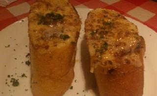 モッツァレラチーズのブルスケッタ  アンチョビバターソース
