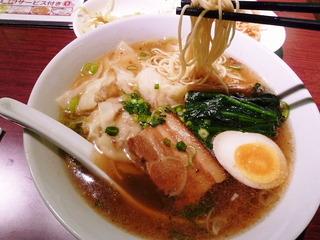 海老雲呑麺