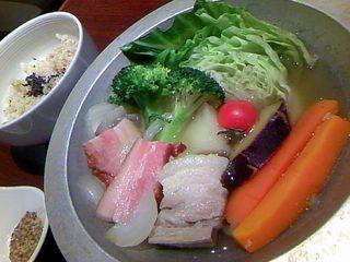 温野菜ポトフ