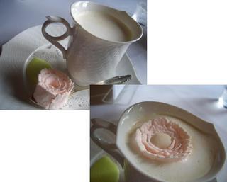 薔薇のウィンナコーヒー