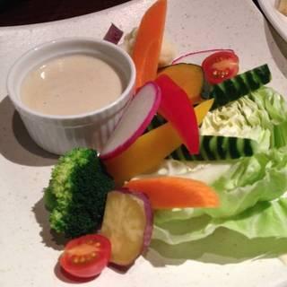 色彩野菜のバーニャカウダ
