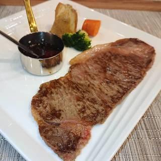国産牛のサーロインステーキ