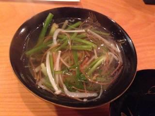 野菜の沢煮椀