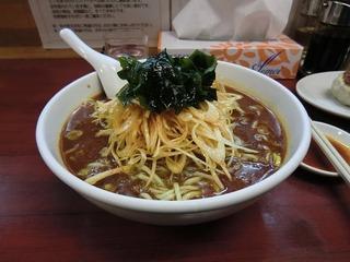 ネギ坦々麺