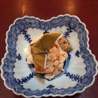 胡麻アイスと蜂蜜のヌガーグラッセ
