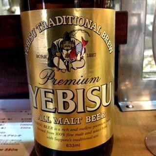 瓶ビール(エビス)