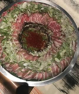 松阪豚の肉炊き鍋