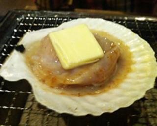 ホタテバター焼き