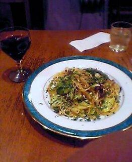 アンチョビとキャベツのスパゲティ