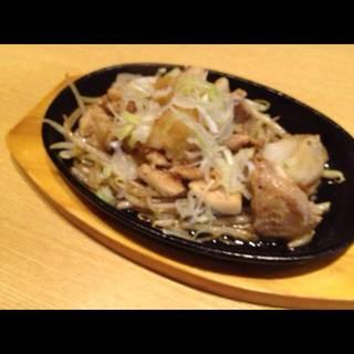 若鶏おろしポン酢風味