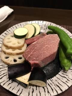 和牛ステーキコース