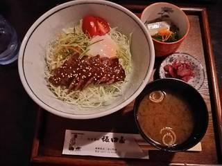 飛騨牛ステーキ丼