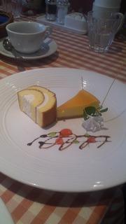 デザートワゴン ロールケーキ&チーズケーキ