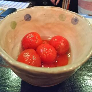 ミニトマトの甘酢漬け