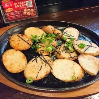 山芋の醤油焼き