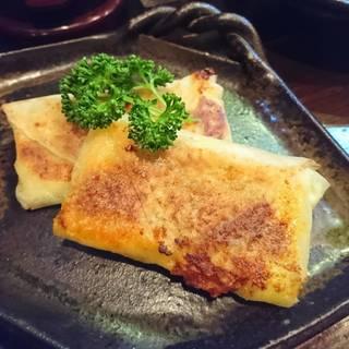 キーマカレーチーズ焼春巻き