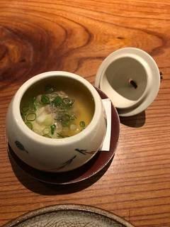 鯛のあんかけ茶碗蒸し
