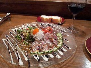 本日のおすすめの鮮魚のカルパッチョ