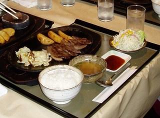 亀岡牛カルピ焼き肉ランチ