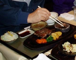 亀岡牛リブロースステーキランチ