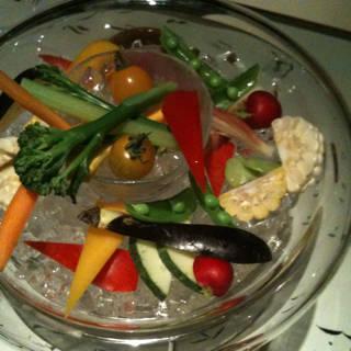 農園野菜の盛り合わせ バーニャカウダ