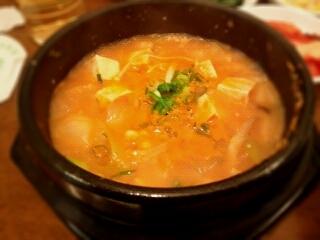 味噌チゲ定食