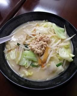 鶏白湯タンメン