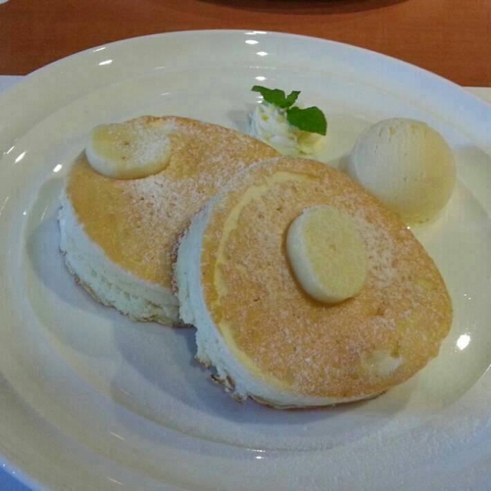 ニューオータニ特製パンケーキ