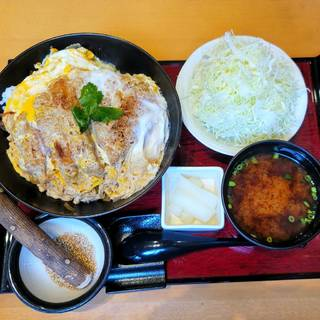 ロースかつ丼定食