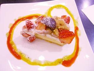 イチゴのモンブラン