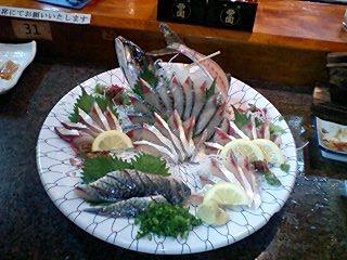 長崎ハーブ鯖の活き作り