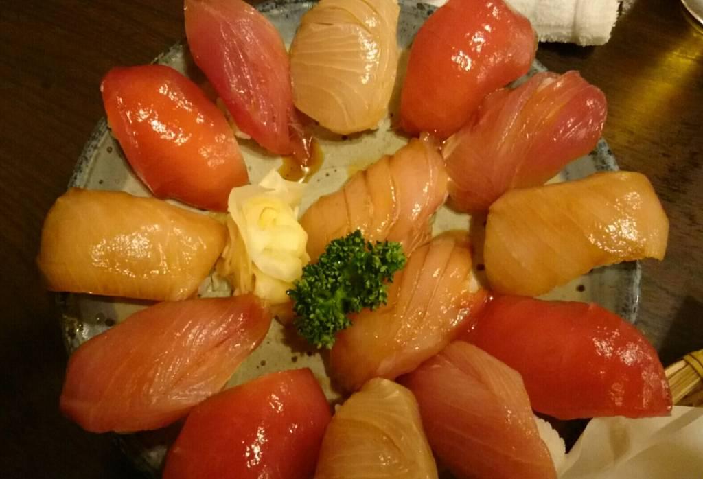 大漁盛り合わせ(島ずし)