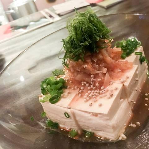 木綿豆腐の梅水晶