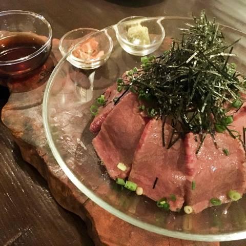 石垣牛のたたきご飯