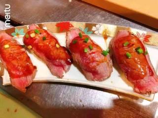 A4和牛肉寿司