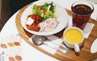 甘辛チキン雑穀ごはん&サラダ