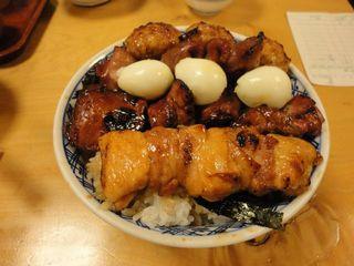 ランチ 焼き鳥丼