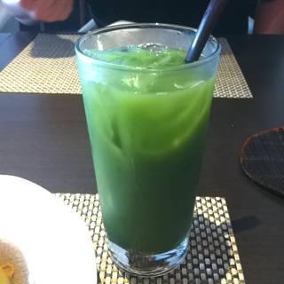 抹茶ハイ(コラーゲン入り)