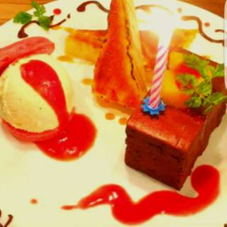 プレートケーキ