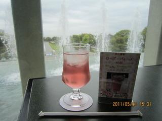 薔薇ジュース