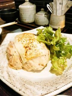 炙りチーズのポテトサラダ