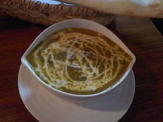 ホウレン草とチーズのカレー