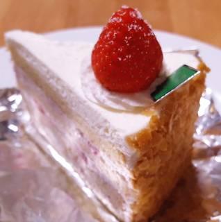 苺と和三盆のショートケーキ