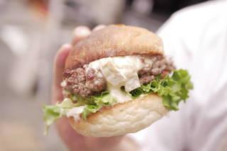 松阪牛ハンバーガー