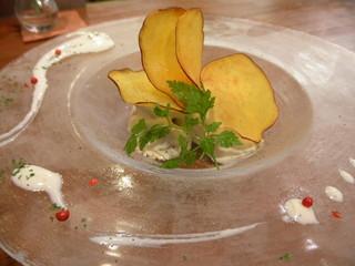 さつま芋のマスカルポーネ和え