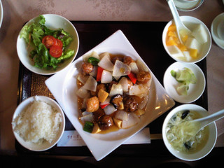 酢豚セット