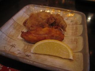 比内地鶏の唐揚げ