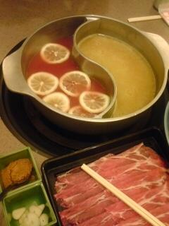 カレーとトマト鍋