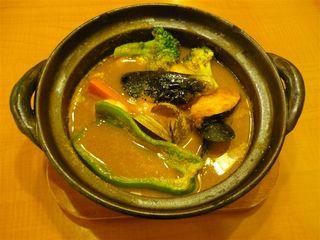 海の幸の海鮮スープカレー