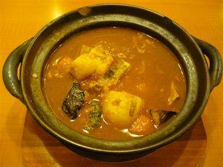 豚の角煮温野菜のスープカレー(ポークスープ)